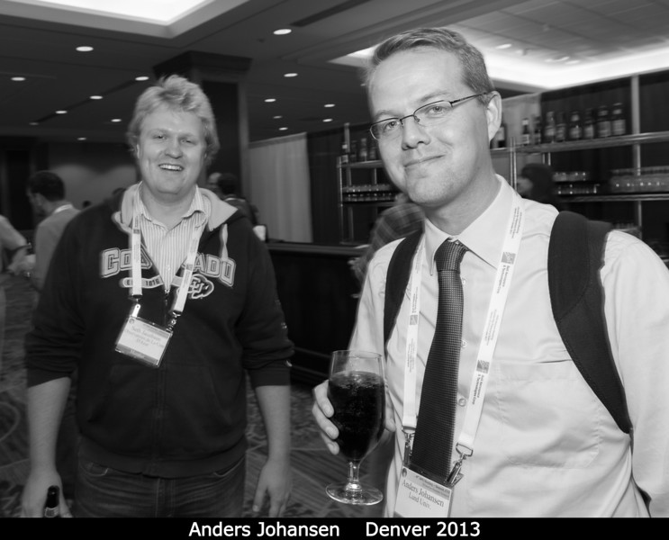 Anders Johansen has recovered from his talk.<br /> <br /> Credit: Henry Throop<br /> Oct 2013<br /> DPS45 Denver
