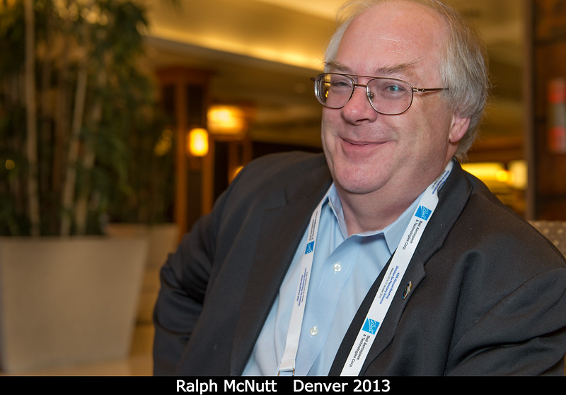 Ralph McNutt (APL) has a secret about Pu-238 he'd love to tell you.<br /> <br /> Credit: Henry Throop<br /> Oct 2013<br /> DPS45 Denver