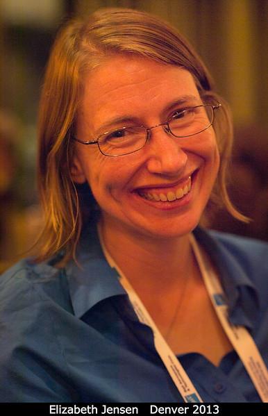 Elizabeth Jensen (PSI).<br /> <br /> Credit: Henry Throop<br /> Oct 2013<br /> DPS45 Denver
