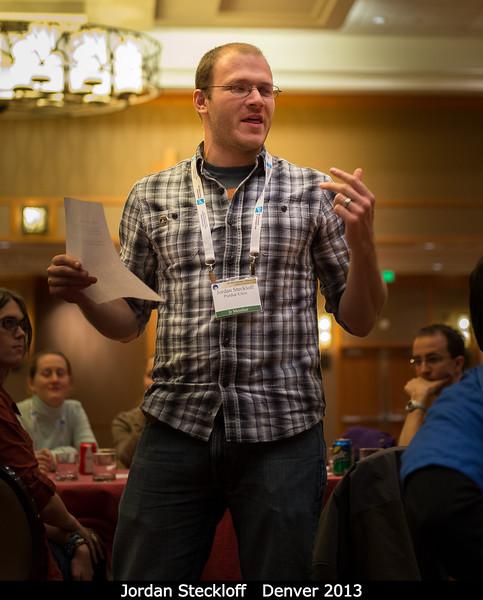 Jordan Steckloff (Purdue) explains his thoughts on upcoming missions.<br /> <br /> Credit: Henry Throop<br /> Oct 2013<br /> DPS45 Denver
