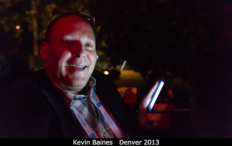 On the bus ride back, Kevin Baines (JPL) is an illuminating guy. Plus I don't think he's ever forgotten any conversation I've had with him in the past!<br /> <br /> Credit: Henry Throop<br /> Oct 2013<br /> DPS45 Denver