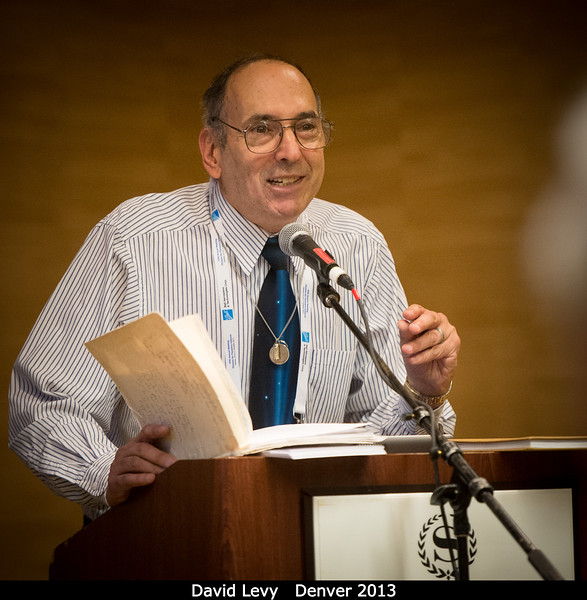 This meeting of the DPS had a few sessions run by the AAS's Historical Astronomy Division (HAD). David Levy talks about Clyde Tombaugh.<br /> <br /> Credit: Henry Throop<br /> Oct 2013<br /> DPS45 Denver