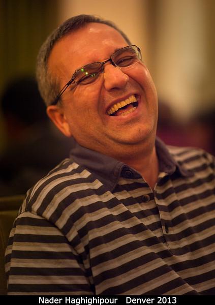 Nader Haghighipour (U. Hawaii and PSI).<br /> <br /> Credit: Henry Throop<br /> Oct 2013<br /> DPS45 Denver