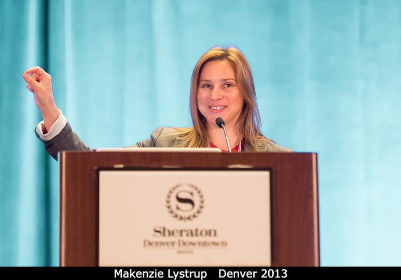 Makenzie Lystrup.<br /> <br /> Credit: Henry Throop<br /> Oct 2013<br /> DPS45 Denver