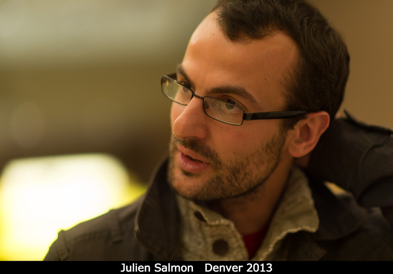 Julien Salmon.<br /> <br /> Credit: Henry Throop<br /> Oct 2013<br /> DPS45 Denver