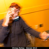 Chrissy Richey keeps busy at the banquet.<br /> <br /> Credit: Henry Throop<br /> Oct 2013<br /> DPS45 Denver