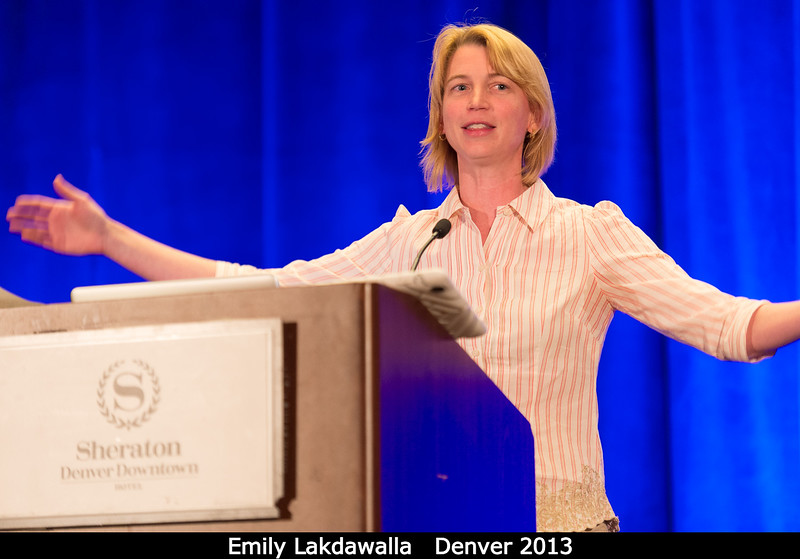 Emily Lakdawalla wants you to sign up to be a member of the Planetary Society. (And indeed I did that very night!)<br /> <br /> Credit: Henry Throop<br /> Oct 2013<br /> DPS45 Denver