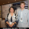 Amanda Bosh (MIT) and Jake Olkin (Niwot High School!).<br /> <br /> Credit: Henry Throop<br /> Oct 2013<br /> DPS45 Denver