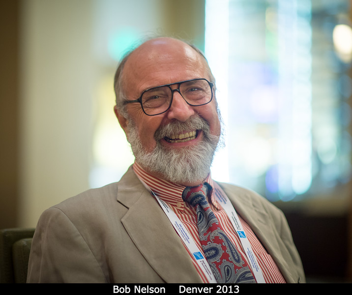Bob Nelson (PSI) is one more ex-JPLer at PSI.<br /> <br /> Credit: Henry Throop<br /> Oct 2013<br /> DPS45 Denver