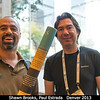 Shawn Brooks (JPL) with Paul Estrada (SETI).<br /> <br /> Credit: Henry Throop<br /> Oct 2013<br /> DPS45 Denver