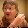 Andy Nelson (ex-PSI, now Los Alamos).<br /> <br /> Credit: Henry Throop<br /> Oct 2013<br /> DPS45 Denver
