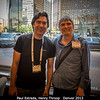 Paul Estrada and Henry Throop. We're in the Sheraton lobby, with most of the bulk of the hotel behind me.<br /> <br /> Credit: Henry Throop<br /> Oct 2013<br /> DPS45 Denver