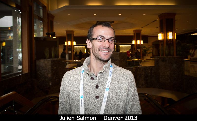 Julien Salmon (SwRI).<br /> <br /> Credit: Henry Throop<br /> Oct 2013<br /> DPS45 Denver