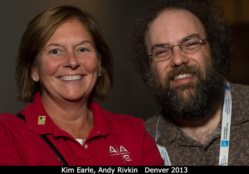 Kim Earle (AAS) and Andy Rivkin (APL).<br /> <br /> Credit: Henry Throop<br /> Oct 2013<br /> DPS45 Denver