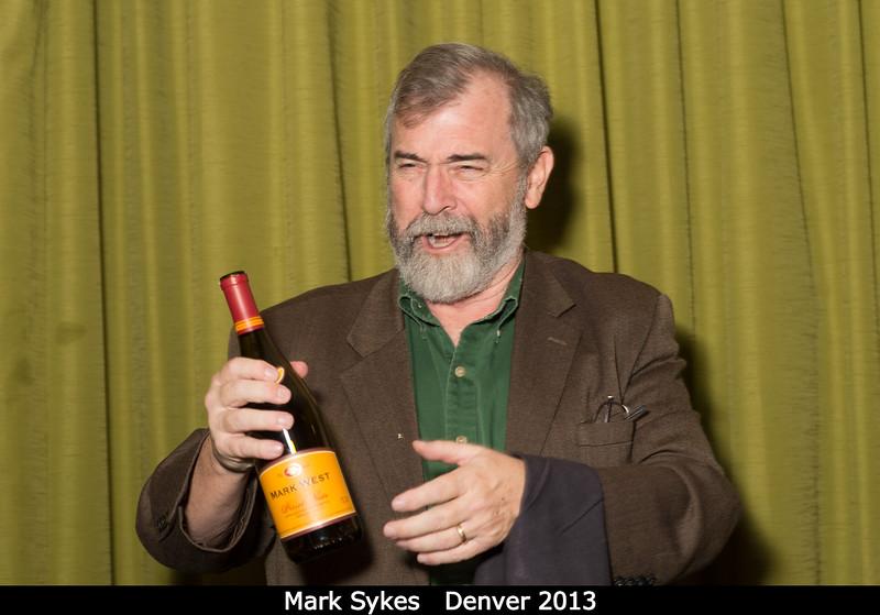 Mark Sykes serves up.<br /> <br /> Credit: Henry Throop<br /> Oct 2013<br /> DPS45 Denver