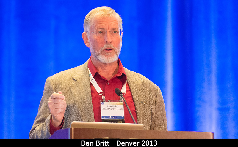 Dan Britt, DPS committee member (and just elected to the DPS Nominating Committee).<br /> <br /> Credit: Henry Throop<br /> Oct 2013<br /> DPS45 Denver
