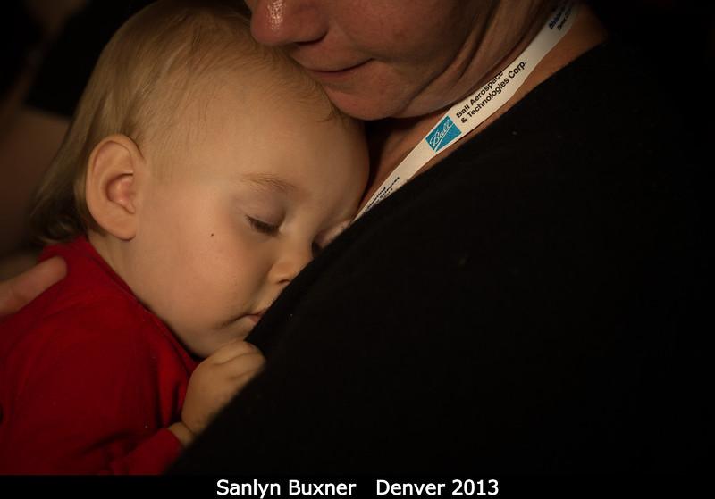 Sanlyn Buxner (PSI) with Annyse.<br /> <br /> Credit: Henry Throop<br /> Oct 2013<br /> DPS45 Denver