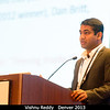 Vishnu Reddy (DPS Press Officer) at the DPS Members' Meeting.<br /> <br /> Credit: Henry Throop<br /> Oct 2013<br /> DPS45 Denver