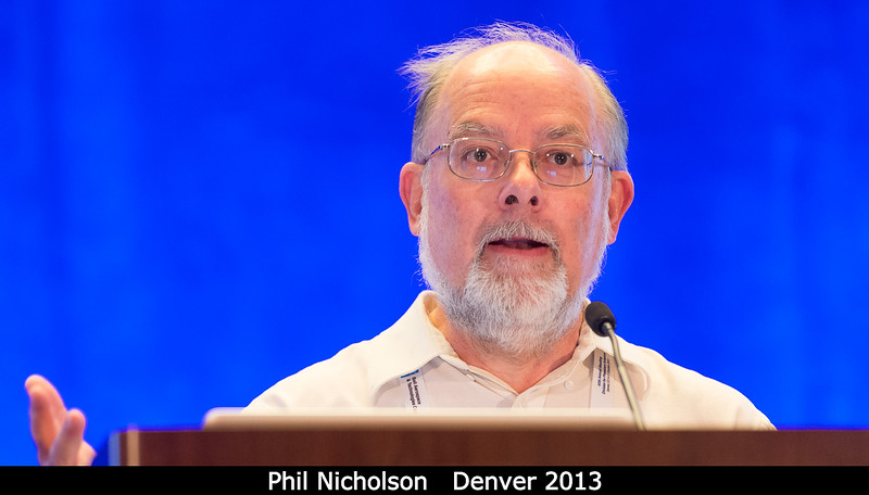 Phil Nicholson dicusses the state of Icarus.<br /> <br /> Credit: Henry Throop<br /> Oct 2013<br /> DPS45 Denver