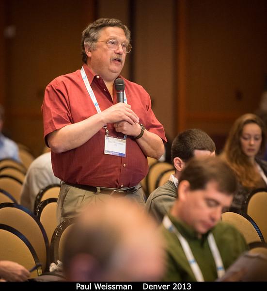 Paul Weissman (JPL).<br /> <br /> Credit: Henry Throop<br /> Oct 2013<br /> DPS45 Denver
