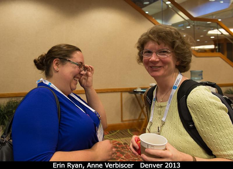 Erin Ryan and Anne Verbiscer (UVa).<br /> <br /> Credit: Henry Throop<br /> Oct 2013<br /> DPS45 Denver