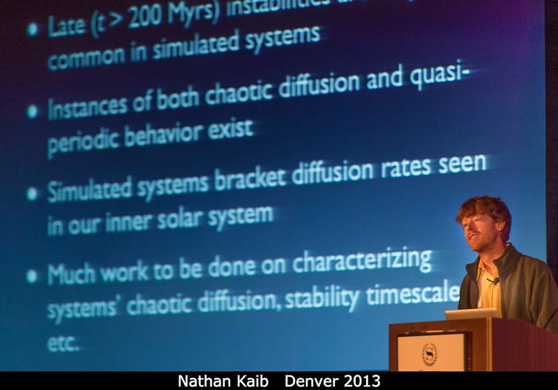 Nathan Kaib (Northwestern).<br /> <br /> Credit: Henry Throop<br /> Oct 2013<br /> DPS45 Denver