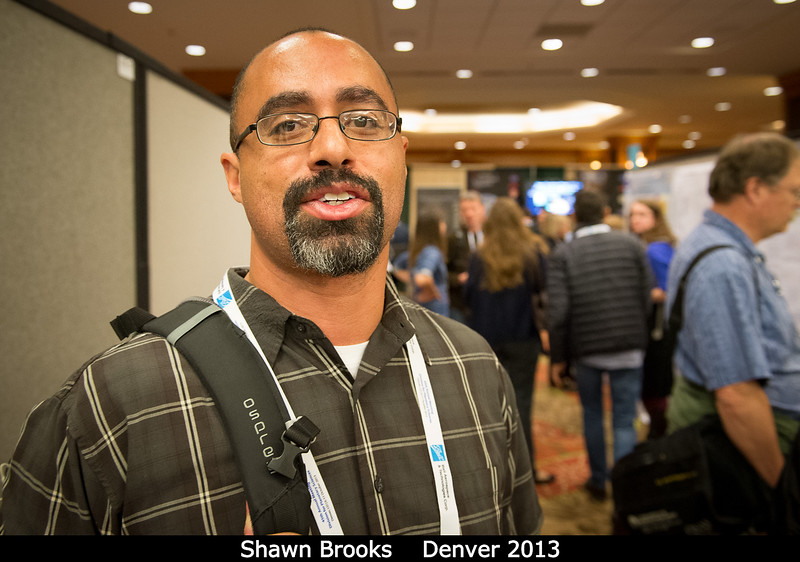 Shawn Brooks (JPL) keep busy sequencing Cassini.<br /> <br /> Credit: Henry Throop<br /> Oct 2013<br /> DPS45 Denver