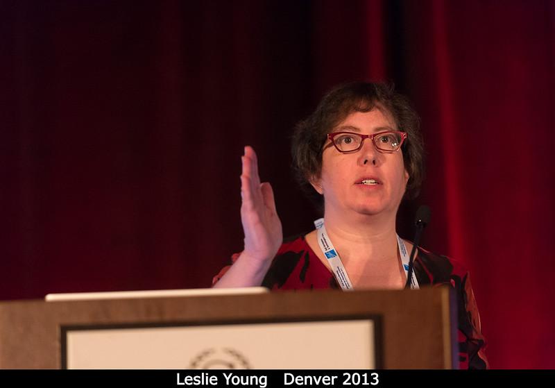 Leslie Young.<br /> <br /> Credit: Henry Throop<br /> Oct 2013<br /> DPS45 Denver