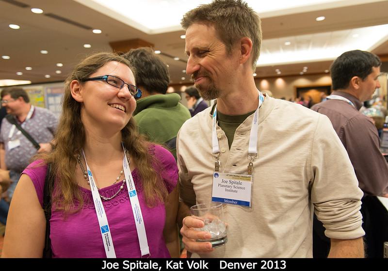 Joe Spitale with Kat Volk (CITA).<br /> <br /> Credit: Henry Throop<br /> Oct 2013<br /> DPS45 Denver