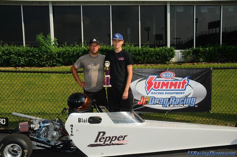 Final ET Race Runner-Up in Advanced Junior Dragster - Austin Callaway