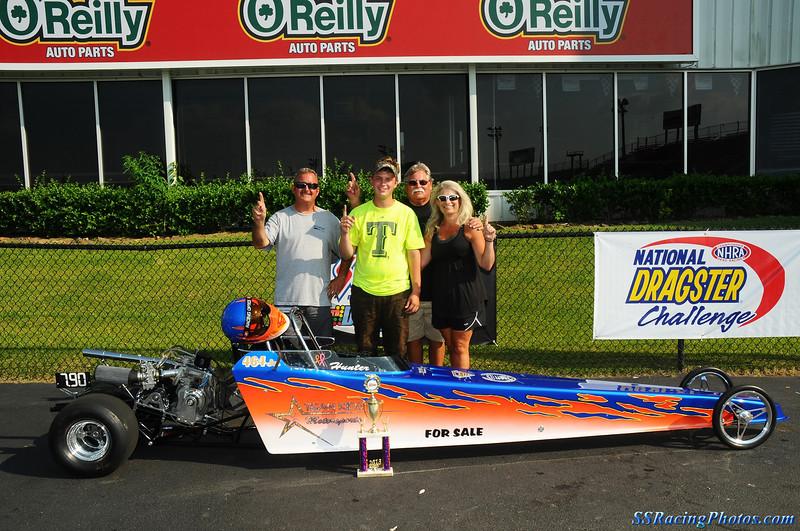 Final ET Race Winner in Advanced Junior Dragster - Hunter Patton