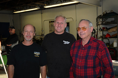 Jeff Naiser,  Frankie taylor and Jeff's Dad