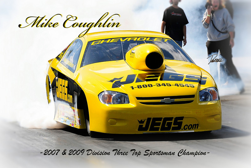 Item# 1037 -Mike Coughlin Burnout- 12 x 18