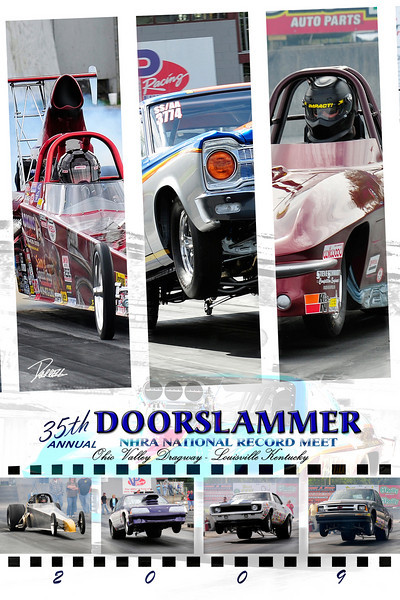Item# 1048 -35th Annual Doorslammer Print - 12 x 18