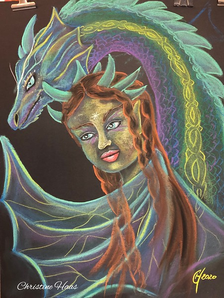 The Fairy and the dragon Jeannette S.