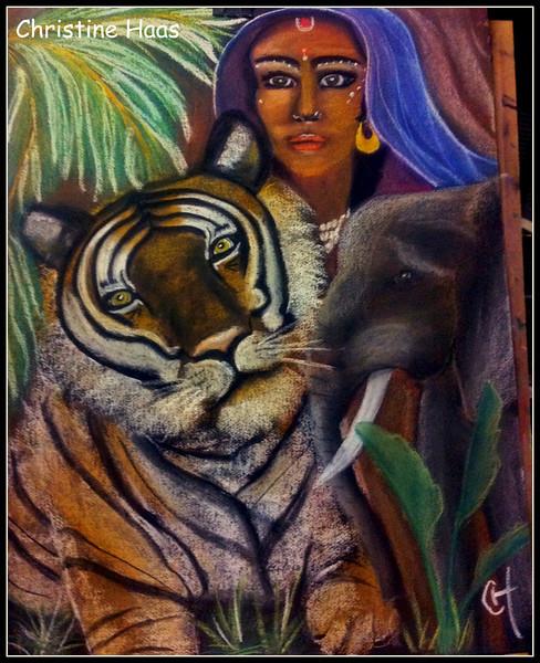 INDIA TOTEM ANIMAL
