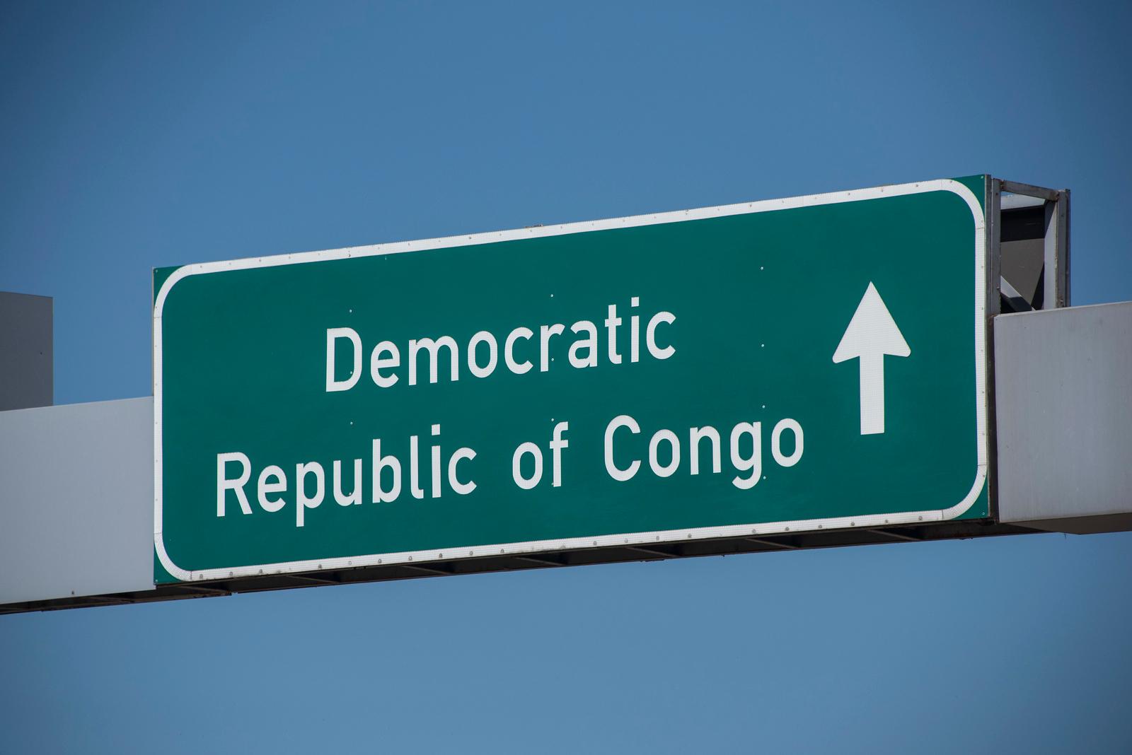 D R Congo Sign