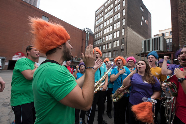 Dream Works Trolls Promo with The Ohio University Marching 110