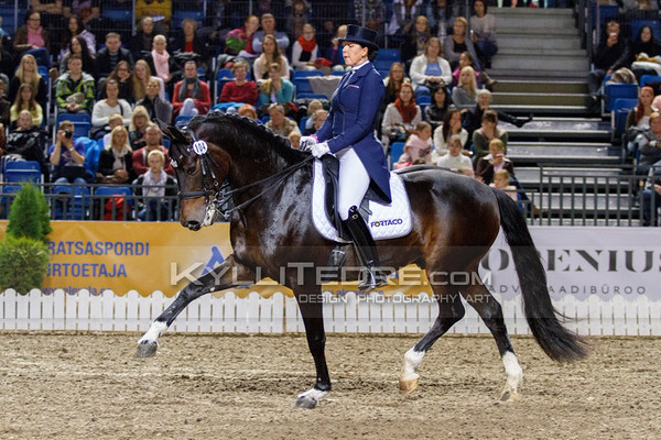 Inessa MERKULOVA - MISTER X @ Tallinn International Horse Show 2014, CDI-W GP Freestyle. Foto: Kylli Tedre / www.kyllitedre.com