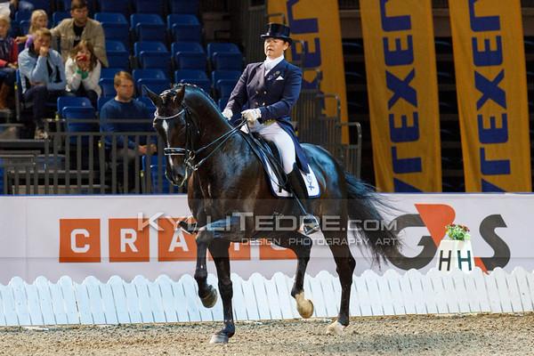 Elisabet EHRNROOTH - WIZARD II @ Tallinn International Horse Show 2014, CDI-W Grand Prix. Foto: Kylli Tedre / www.kyllitedre.com