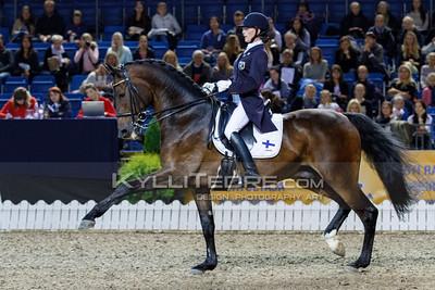Anna-Leena MELLER - MAUSER @ Tallinn International Horse Show 2014, CDI-W Grand Prix. Foto: Kylli Tedre / www.kyllitedre.com