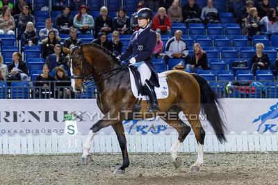 Kira KANERVA - DORAZIO @ Tallinn International Horse Show 2014, CDI-W Grand Prix. Foto: Kylli Tedre / www.kyllitedre.com