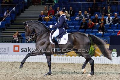 Malin HAMILTON - FLEETWOOD @ Tallinn International Horse Show 2014, CDI-W Grand Prix. Foto: Kylli Tedre / www.kyllitedre.com