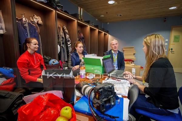 Kirkke Eliise Poldsalu, Kristiina Aun, Mart Mardisalu, Piret Kulo @ Tallinn International Horse Show 2015  © Author: Kylli Tedre / www.kyllitedre.com