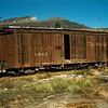 Full view of boxcar #3063.