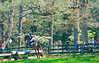 Deep Run Pony Club Horse Trials at the clubhouse cross country field in the fall