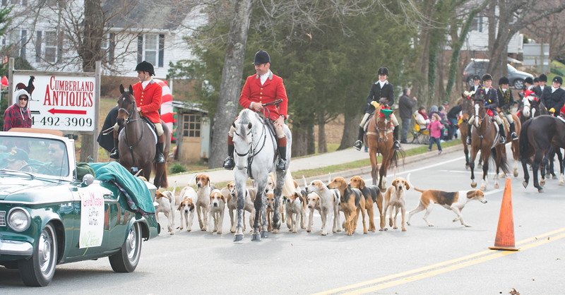 Deep Run joined the Cumberland Christmas parade following the Grand Marshal
