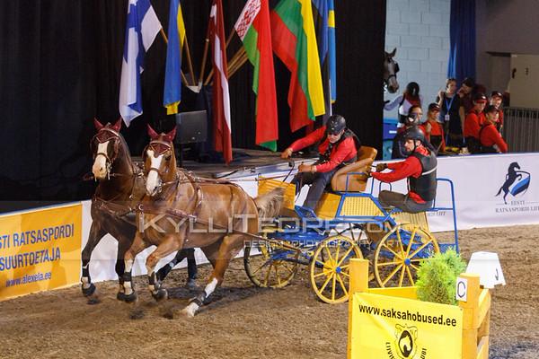 Rakendite show-v›istlus @ Tallinn International Horse Show 2014. †lar Raudsepp - Redrum, Friidom. Foto: Kylli Tedre / www.kyllitedre.com