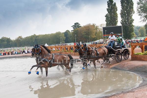Driving Marathon @ Alltech FEI World Equestrian Games 2014, Normandy. ROBSON Gavin AUS. Photo: Kylli Tedre / www.kyllitedre.com