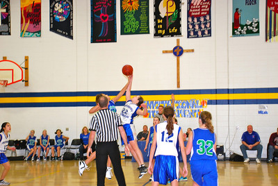 Divine Redeemer 7th Grade GBB 2011-12
